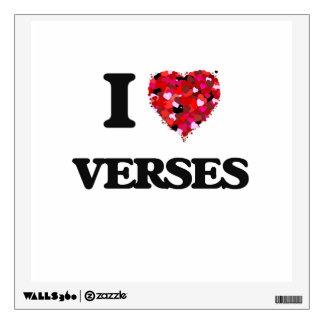 I love Verses Wall Decals