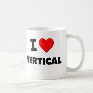 I love Vertical Coffee Mug