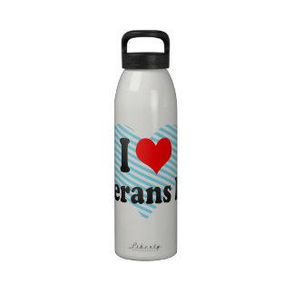 I love Veterans Day Drinking Bottle
