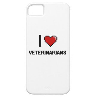 I love Veterinarians iPhone 5 Cover