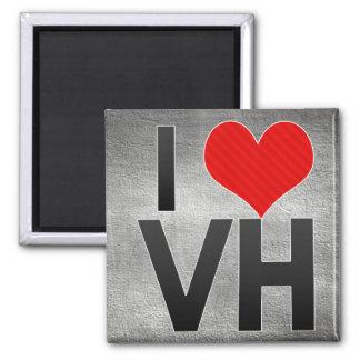 I Love VH Fridge Magnet
