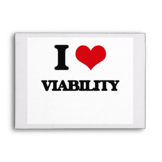 I love Viability Envelope