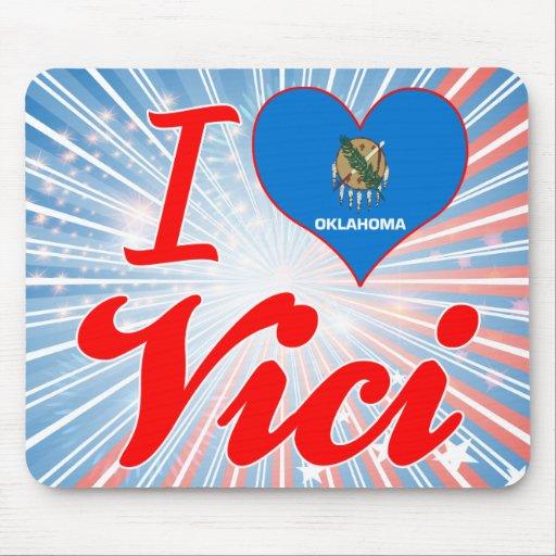 I Love Vici, Oklahoma Mousepads