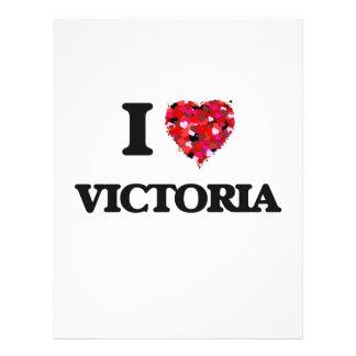 "I Love Victoria 8.5"" X 11"" Flyer"