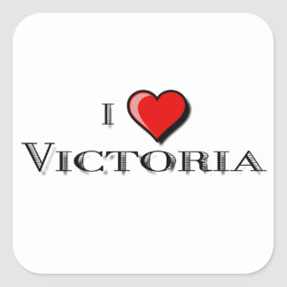I Love Victoria Square Sticker