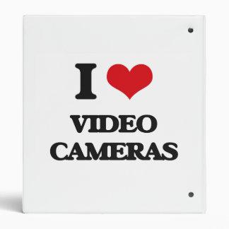 I love Video Cameras Vinyl Binders