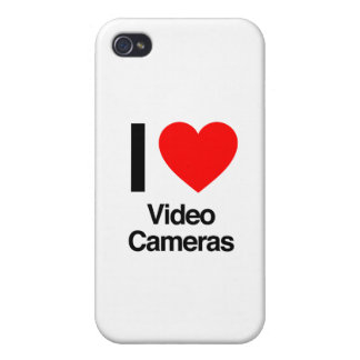i love video cameras iPhone 4 cover