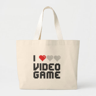 I Love Video Game Bags