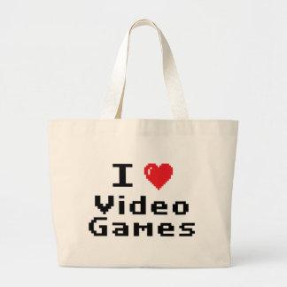 I Love Video Games Bag