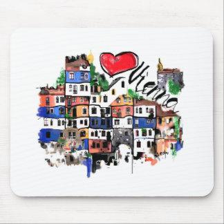 I love Vienna Mouse Pad