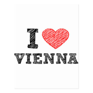 I Love Vienna Post Cards