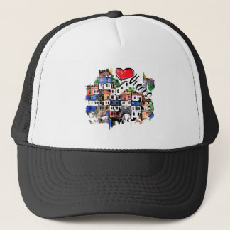 I love Vienna Trucker Hat