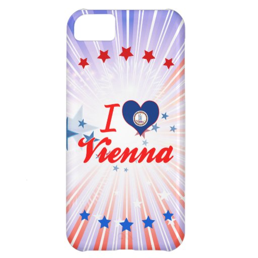 I Love Vienna, Virginia Cover For iPhone 5C