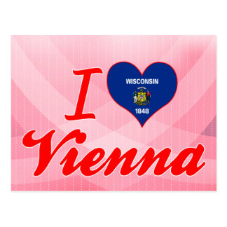 I Love Vienna, Wisconsin Post Cards