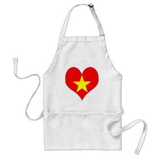 I Love Vietnam Adult Apron
