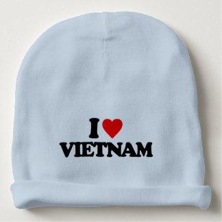I LOVE VIETNAM BABY BEANIE