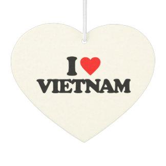 I LOVE VIETNAM CAR AIR FRESHENER