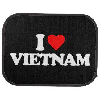 I LOVE VIETNAM CAR MAT