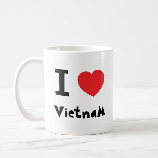 I love Vietnam Coffee Mugs