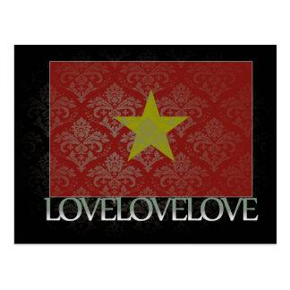 I love Vietnam Cool Postcard