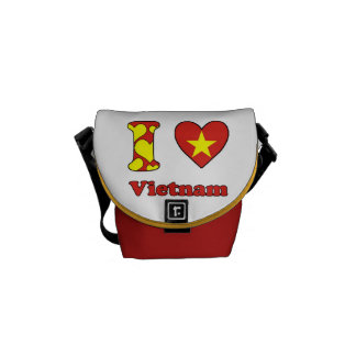 I love Vietnam Courier Bags