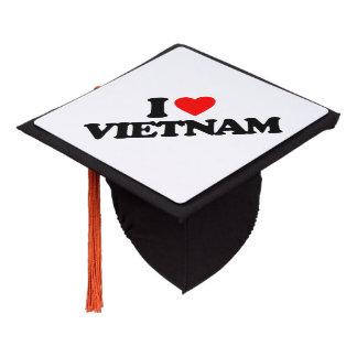 I LOVE VIETNAM GRADUATION CAP TOPPER