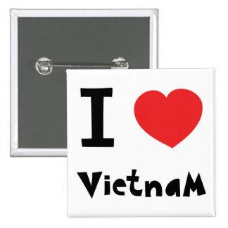 I love Vietnam Pin