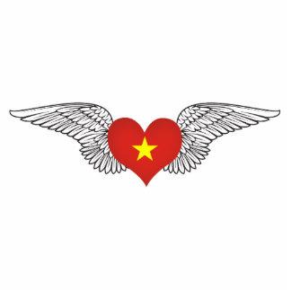 I Love Vietnam -wings Photo Sculpture