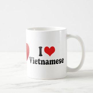 I Love Vietnamese Coffee Mugs