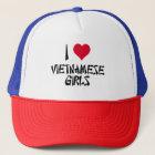 I Love Vietnamese Girls Trucker Hat