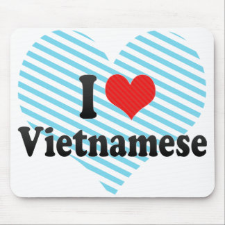 I Love Vietnamese Mouse Pads