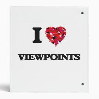 I love Viewpoints Binders