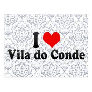 I Love Vila do Conde, Portugal Postcard