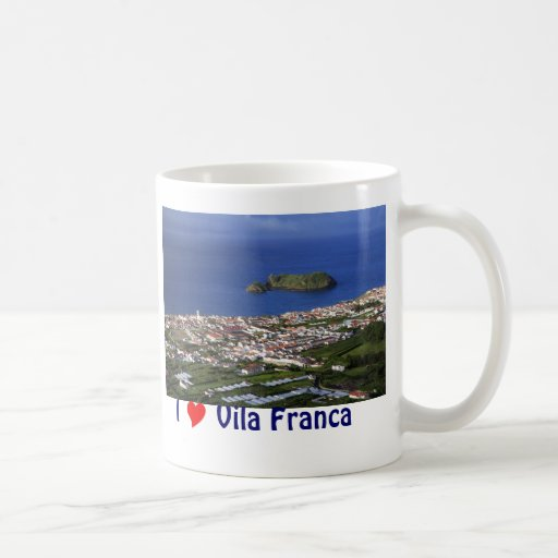 I Love Vila Franca Coffee Mug