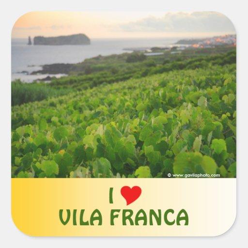 I Love Vila Franca Sticker