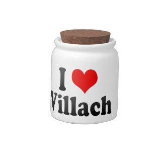 I Love Villach Austria Candy Jars