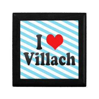 I Love Villach Austria Jewelry Box