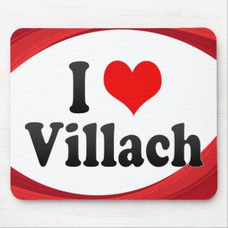I Love Villach Austria Mouse Pads