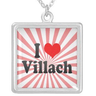 I Love Villach Austria Personalized Necklace