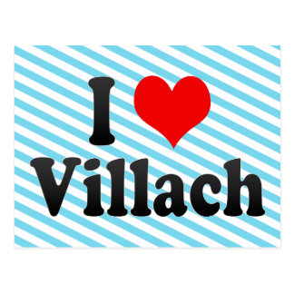 I Love Villach Austria Post Cards