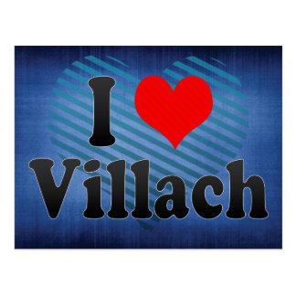 I Love Villach Austria Postcard
