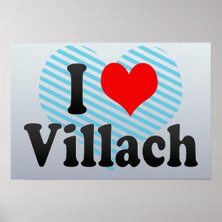 I Love Villach Austria Posters