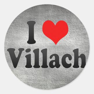 I Love Villach Austria Stickers
