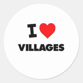 I love Villages Sticker