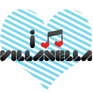 I Love Villanella Photo Cutouts