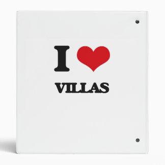 I love Villas Vinyl Binder