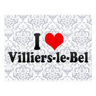 I Love Villiers-le-Bel, France Postcard