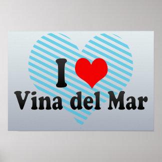 I Love Vina del Mar, Chile Print