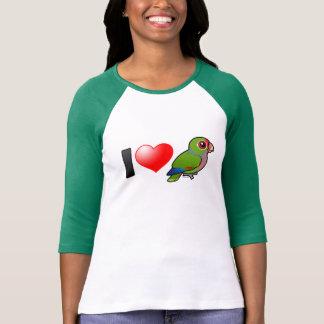 I Love Vinaceous Parrots Tshirts