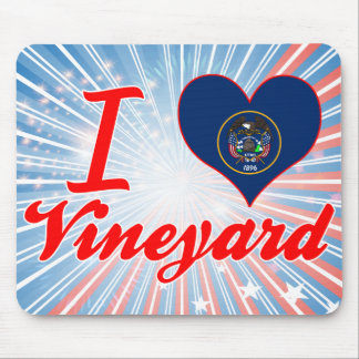 I Love Vineyard, Utah Mouse Pad
